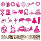 Metal Cutting Dies DIY Scrapbooking Embossing Stencils Paper Card Puzzle Die Cut