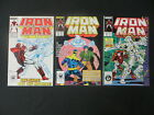 IRON MAN 219 221 1ST APP GHOST ANT MAN  THE WASP MOVIE 3 ISSUE SET 124