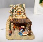 Dept 56 Nativity House Little Town of Bethlehem Light Up Manager Baby Jesus