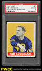 1948 Leaf Football Sid Luckman ROOKIE RC #1 PSA 2 GD (PWCC)