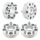 4x 6x55 HUB CENTRIC 2 THICK WHEEL SPACERS ADAPTERS 781mm for GMC Sierra 1500