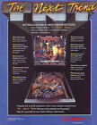 BALLY MOTORDOME ORIGINAL FLIPPER GAME PINBALL MACHINE FLYER BROCHURE 1986