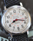 Vintage Bulova Accutron 214 Watch Railroad Approved 24Hour Dial Runs Looks Great