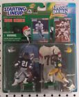 DEION SANDERS, HERB ADDERLEY - Starting Lineup - CLASSIC DOUBLES Cowboys Packers