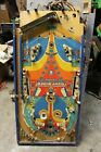 BALLY NIGHT RIDER PINBALL MACHINE PLAYFIELD WITH SOME PARTS AND WIRING