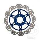 EBC Front Brake Disc Vee Rotor Blue Laverda Ghost 650 Legend 1996-1997