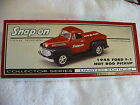 EQ SNAP ON 1948 FORD F 1 HOT ROD PICKUP DIE CAST BANK LIMITED EDITION MIB