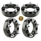 4pc 15 inch thick 5x55 Dodge Black Wheel Spacers 9 16 Stud for Dodge Ram 1500