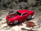 MUSCLE MACHINES 65 FORD MUSTANG DIE CAST CAR 1 64 SCALE 1965 RED