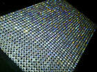 CraftbuddyUS1500 Bulk Sheet 5mm Self Adhesive AB Clear Rhinestone Gems Craft
