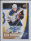 15-16 UPPER DECK STAR ROOKIE BOX SET AUTOGRAPH #4 COLTON PARAYKO RC AUTO BLUES