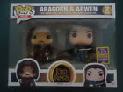Funko Pop Vinyl 2 Pack, Lord of the Rings, ARAGORN & ARWEN, Exclusive SDCC!!