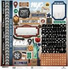 PAPER HOUSE NEW YORK CITY TRAVEL VACATION 12X12 CARDSTOCK SCRAPBOOK STICKERS