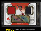 2012 Topps Museum Collection Signature Red David Ortiz AUTO PATCH 25 (PWCC)
