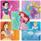 20 Disney Princess Glitter Stickers 25x25 each Party Favors