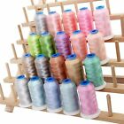 RAYON MACHINE EMBROIDERY THREAD SET 20 PASTEL COLORS 1000M CONES 40WT