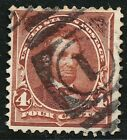 DR JIM STAMPS US SCOTT 280 4C LINCOLN USED FANCY CANCEL NO RESERVE FREE SHIPPING