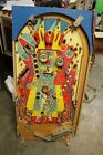 WILLIAMS DISCO FEVER PINBALL MACHINE PLAYFIELD WITH SOME PARTS