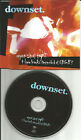 DOWNSET Eyes Shut tight w/ 4 RARE LIVE Trx PROMO DJ CD Single 1997 USA MECD125