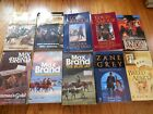 LOT OF 10 WESTERN PAPERBACKS BRAND LAMOUR JAMESON GREY McCOY +