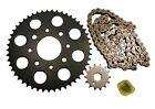Honda SL100, 1971-1972, Chain and 14/49 Sprocket Set - SL 100 Motosport