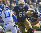 MIKE MCGLINCHEY Notre Dame Fighting Irish Football SIGNED 8X10 Photo