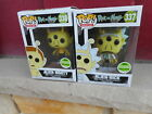 Funko Pop! Alien Rick And Alien Morty Hot Topic ECCC Shared Exclusives Set of 2