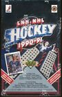 1990-91 UPPER DECK HIGH NUMBER FRENCH HOCKEY SEALED BOX