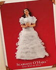 Hallmark 2002 Scarlett O'Hara Gone With The White Gown Porcelain Ornament