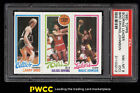 1980 Topps Basketball Larry Bird Magic Johnson ROOKIE RC PSA 8(oc) NM-MT (PWCC)