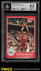1984-85 Star Basketball Charles Barkley ROOKIE RC #202 BGS 8.5 NM-MT+ (PWCC)