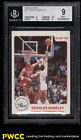 1985-86 Star Basketball Charles Barkley ROOKIE RC #2 BGS 9 MINT (PWCC)