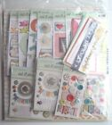 My Minds Eye 12x12 Paper  Matching Accessories Value Kit NEW