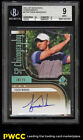 2012 SP Authentic Chirography Golf Tiger Woods AUTO 25 #CTW BGS 9 MINT (PWCC)