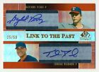2004 SP Prospects GAYLORD PERRY THOMAS DIAMOND RC Link to the Past Dual Auto 50