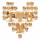 26 Large Wooden Letters  Heart Alphabet Wall Hanging Wedding Party Home Decor