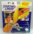 1992 Starting Lineup Figure SLU MLB Jose Canseco Oakland Athletics A's w/Poster