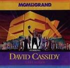 EFX Starring David Cassidy: Cast Album w/ Artwork MUSIC AUDIO CD MGM Las Vegas
