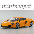 KYOSHO C 09541 P OUSIA MCLAREN 675LT 1 18 DIECAST MODEL CAR ORANGE