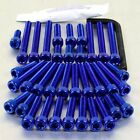Pro-Bolt Aluminium Engine Bolt Kit - Blue ESU130B Suzuki GSX-R750 WN-WS 92-95
