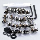 Pro-Bolt Stainless Steel Fairing Bolt Kit - Gold FHO063SSG Honda CBF600S 08-09