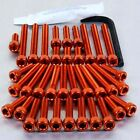 Pro-Bolt Aluminium Engine Bolt Kit - Orange EKTM150O KTM 620 Duke 96-98