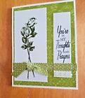HANDMADE THINKING OF YOU CARD WITH ENVELOPE