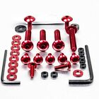 Pro-Bolt ALU Fairing Bolt Kit - Red FOAP70R Aprilia Pegaso 650 Strada 05-09