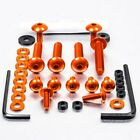 Pro-Bolt ALU Fairing Bolt Kit - Orange FOAP70O Aprilia Pegaso 650 Strada 05-09