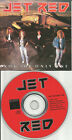 JET RED Not the Only One RARE PROMO Radio DJ CD single USA MINT 1989 HAIR METAL