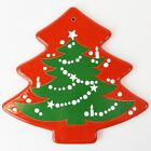 Waechtersbach Red Christmas Tree Shaped Trivet Hot Plate Germany