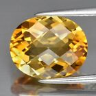 Top! VVS 3.83ct 12x10mm Oval Natural Goden Yellow  Citrine, Brazil