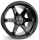 18 ESR SR07 Gloss Black Wheels 18x85 +30 5x1143 For Honda S2000 Prelude CRZ