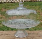 Vintage WEXFORD Clear Glass 12